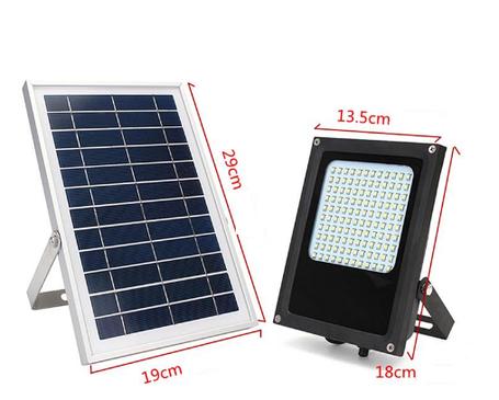Светильник на солнечной батарее 120 LED для уличного освещения, фото 2