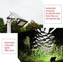Светильник на солнечной батарее 120 LED для уличного освещения, фото 3