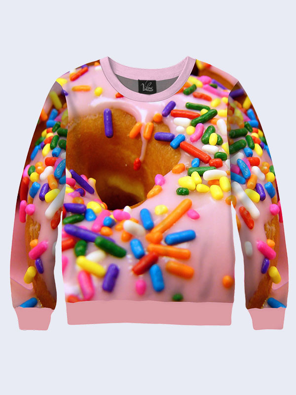 Женский свитшот Big donut