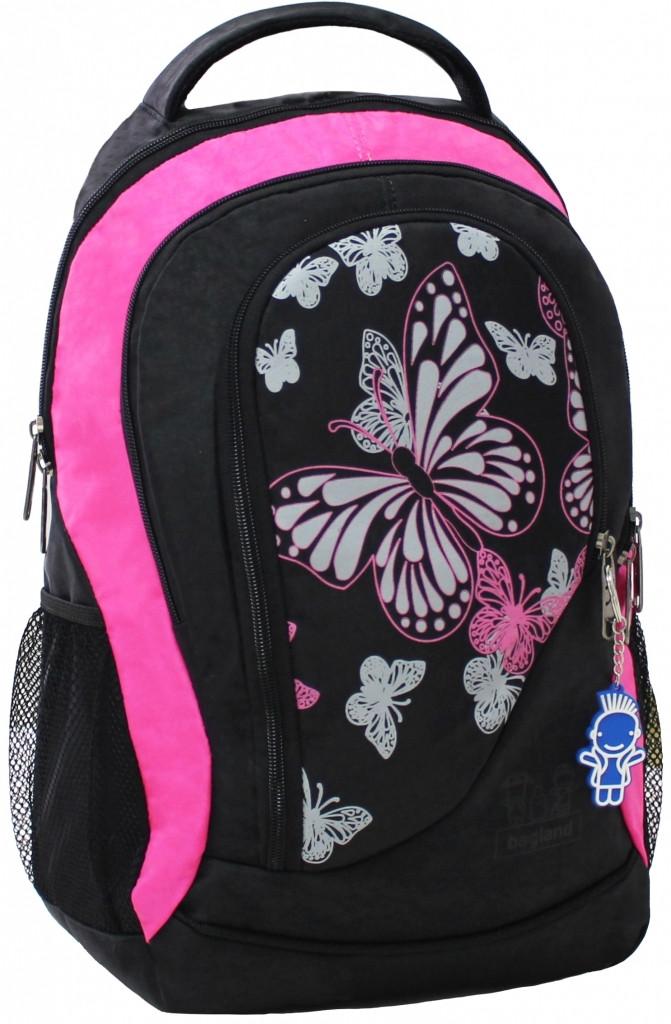 6ea76beb4ab0 Рюкзак для школы PCL Butterfly Black - MY BAG - интернет магазин рюкзаков в  Киеве