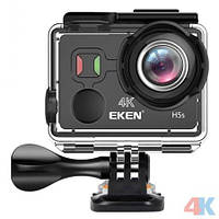 Экшн камера EKEN H5S с сенсорным экраном и электронной стабилизацией изображения