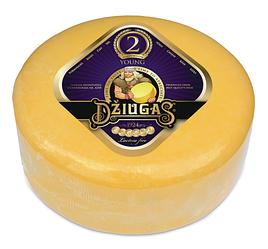 Сыр Джюгас 40% / DZIUGAS Young 40%, 4,5кг (Литва)
