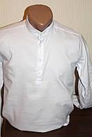 Мужская рубашка Sayfa однотонная стойка