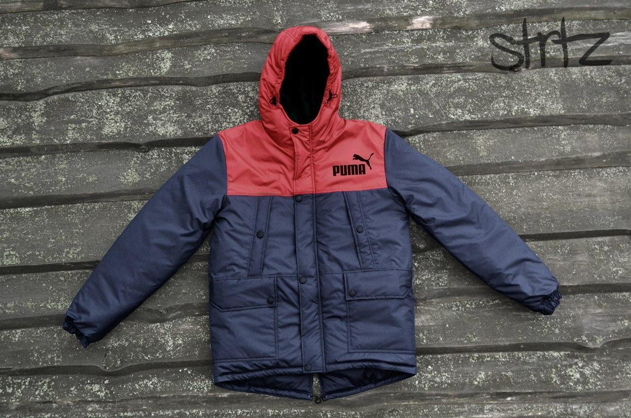 Мужской зимний пуховик парка куртка пума Puma купить в интернет ... d293e3c6f2f