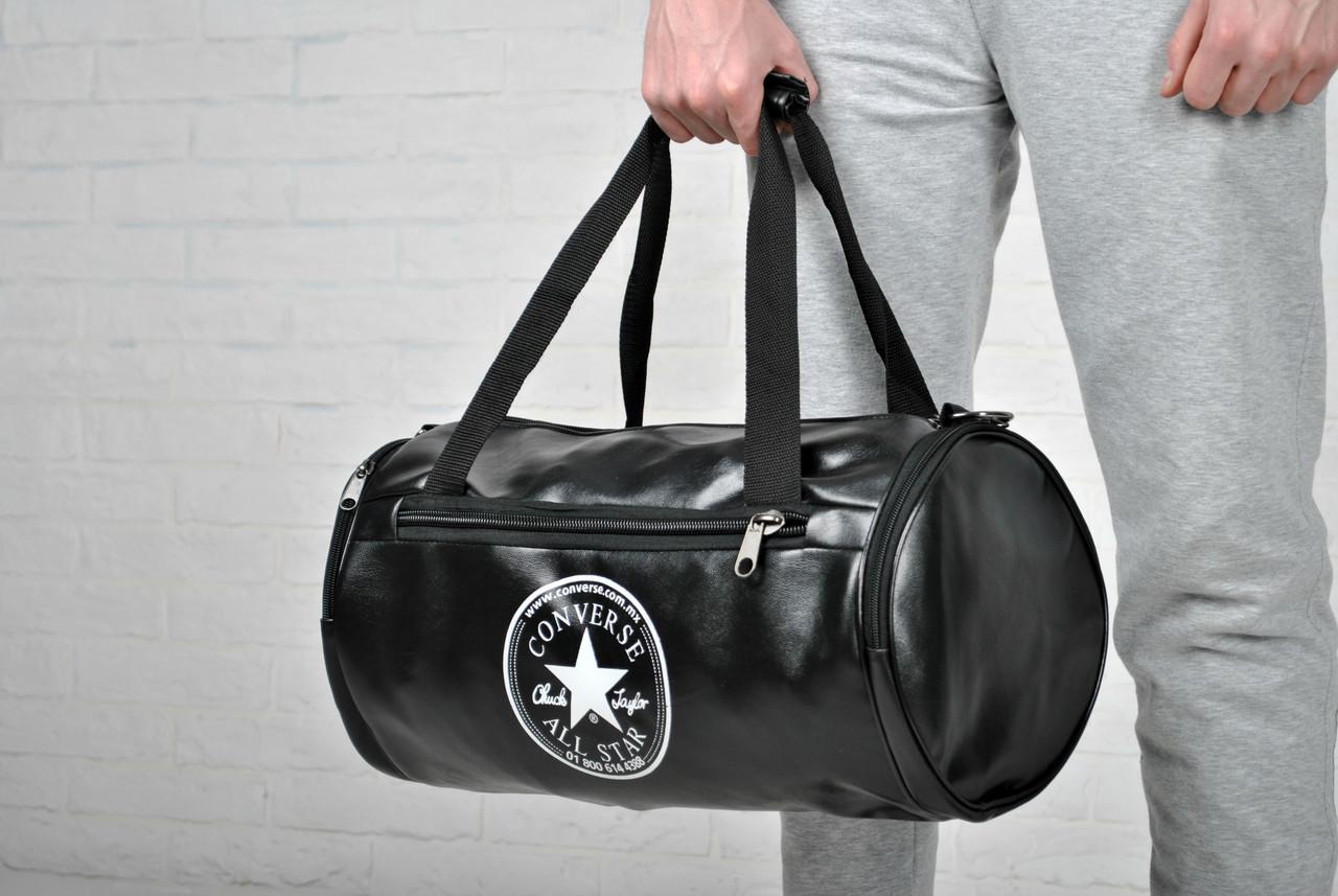 70366704fca8 Круглая спортивная сумка конверс (Converse),эко-кожа, цена 340 грн., купить  в Днепре — Prom.ua (ID#619357795)