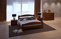 Кровать из массива дуба Арт-4 полуторная