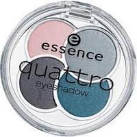 Essence тени для век quattro eyeshadow