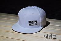 Белый снепбек,рэперская кепка The North Face Snapback Cap реплика