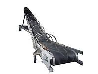 Конвейер ленточный передвижной с шевронами