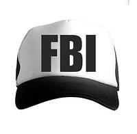 Бейсболка FBI,молодежная кепка Фбр реплика