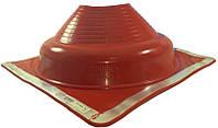 Кровельный проход 170-355мм Dektite Premium (Master Flash) для металлических и битумных крыш Красный силикон