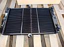 Радиатор Ваз 2108, Ваз 2109, 21099, Ваз 2115 медный, под датчик включения вентилятора (Оренбург, Россия), фото 3