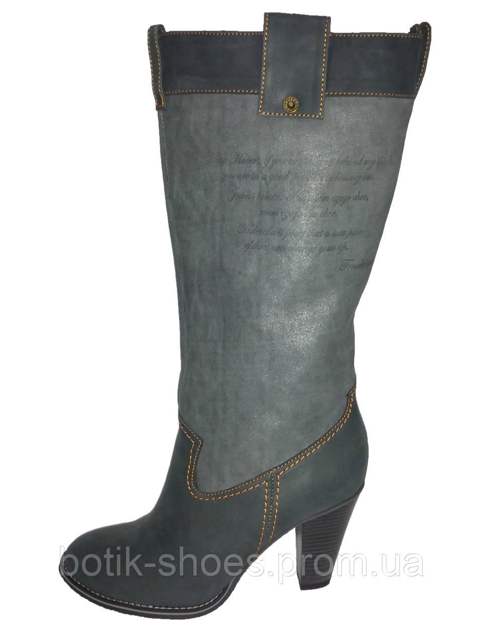 69d52bae0 Кожаные женские демисезонные стильные модные сапоги Vizzavi -  интернет-магазин обуви