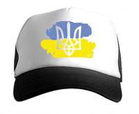 Кепка Украина с флагом реплика