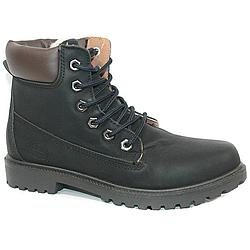 Ботинки Dual 673-1 Чёрные Black (36-41)