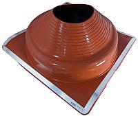 Кровельный проход 230-508мм Dektite Premium (Master Flash) для металлических и битумных крыш Красный силикон