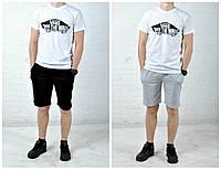 Мужская футболка с шортами ванс (Vans) реплика, фото 1