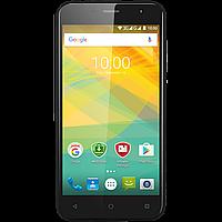 Стильный смартфон 5 дюймов 4 ядра 1/8Gb на 2 сим карты Prestigio Muze B3 чёрный