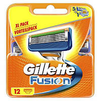 Сменная кассета Gillette Fusion, 12 шт