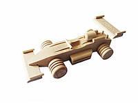 """Деревянная игрушка """"Гоночная машина"""""""