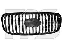 Решетка радиатора черная