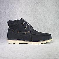 Мужские ботинки UGG David Beckham black (Реплика ААА+)