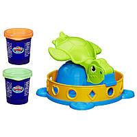 Play-Doh игровой набор Забавная черепашка A0653 Twist 'n Squish Turtle Playset