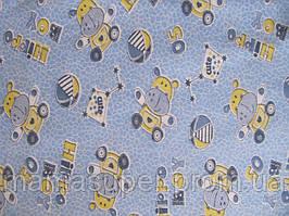 Пеленка 90 * 110см (трикотаж) (голубая)