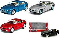 Модель легковая KINSMART BMW Z4 COUPE метал.инерц.откр.дв.1:32 кор.ш.к./96/