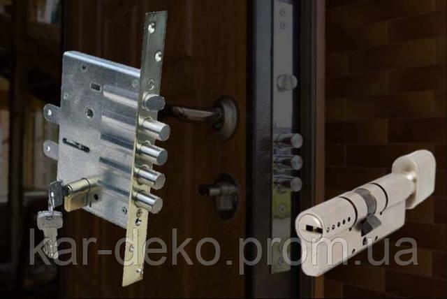 фото цилиндрового замка для дверей