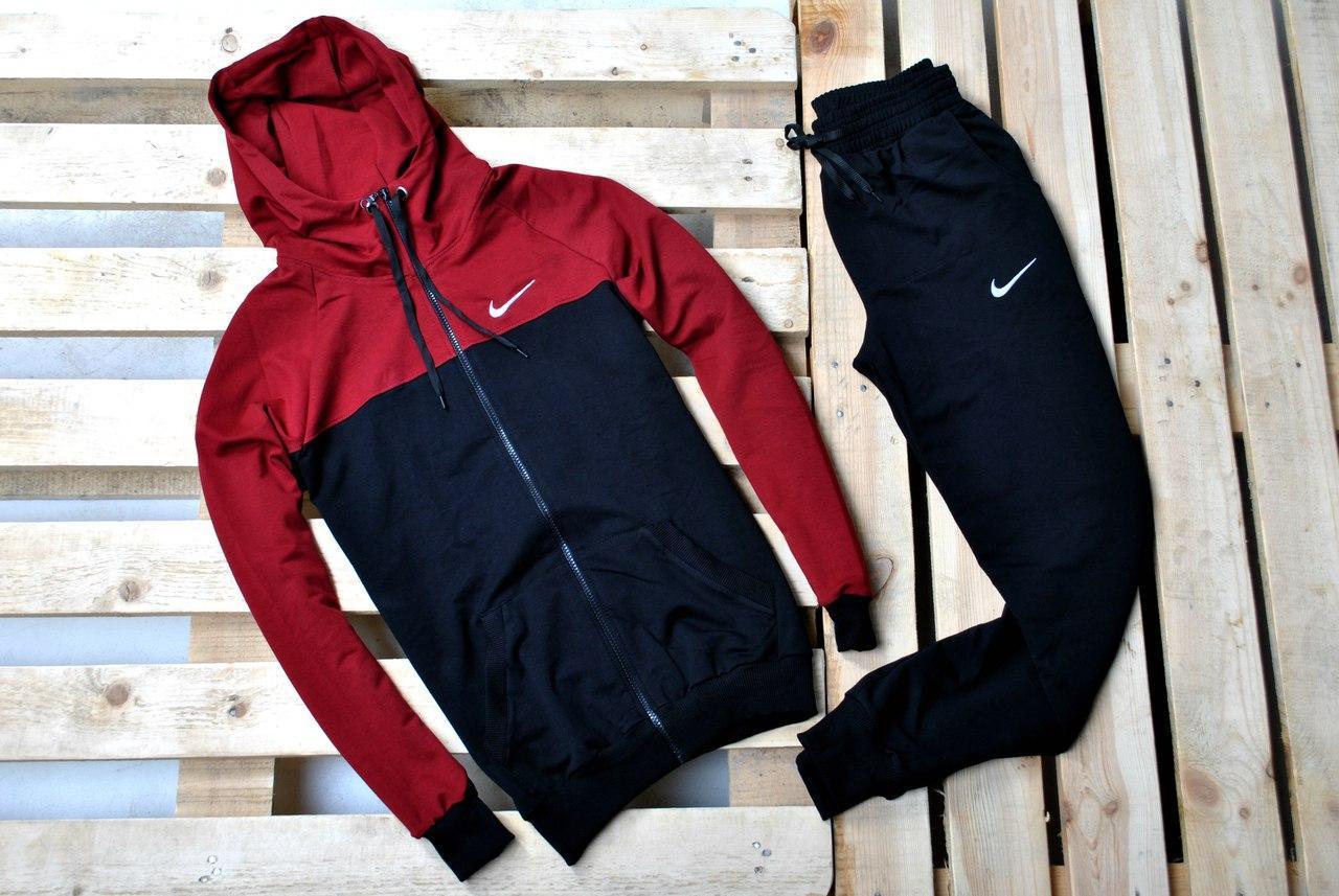 27da88dce56f2 Мужской спортивный костюм Nike (найк), осень-весна реплика купить в ...