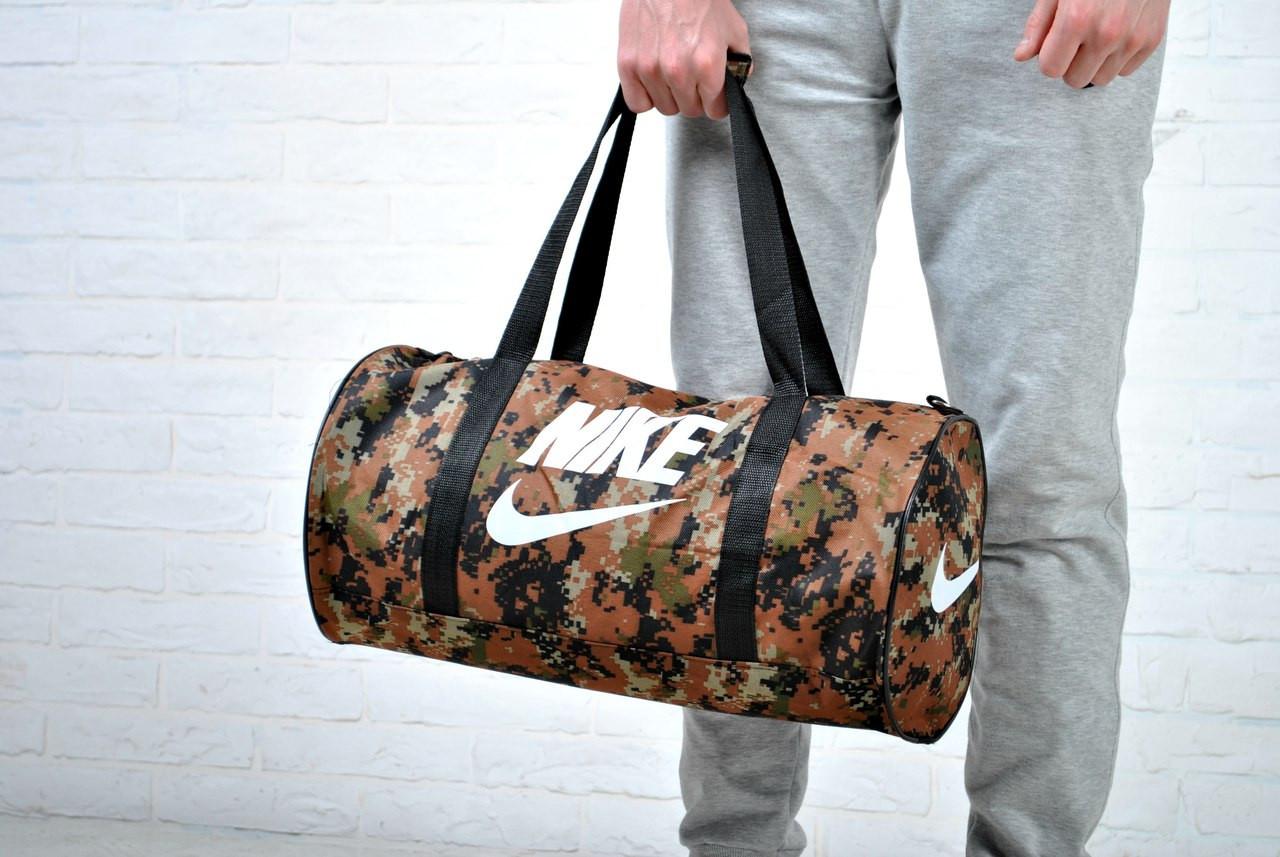 Дорожная спортивная сумка найк (Nike), камуфляж купить в интернет ... cd15f636ca4