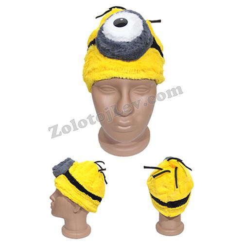Карнавальная маска Миньона 1 глаз