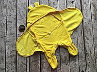 Универсальный махровый спальник, желтый, 6-12 мес.