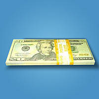 Деньги сувенирные 20 долларов - 80 шт