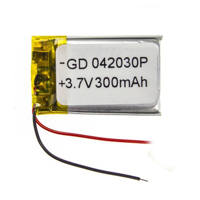 Акумулятор для відеореєстратора 300 mAh