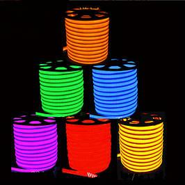 LED неон гибкий 220В IP67