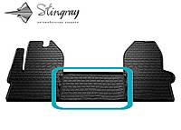 IVECO Daily VI 2014- Передний средний коврик Черный в салон