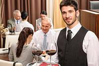 Официант в отель HotelOld