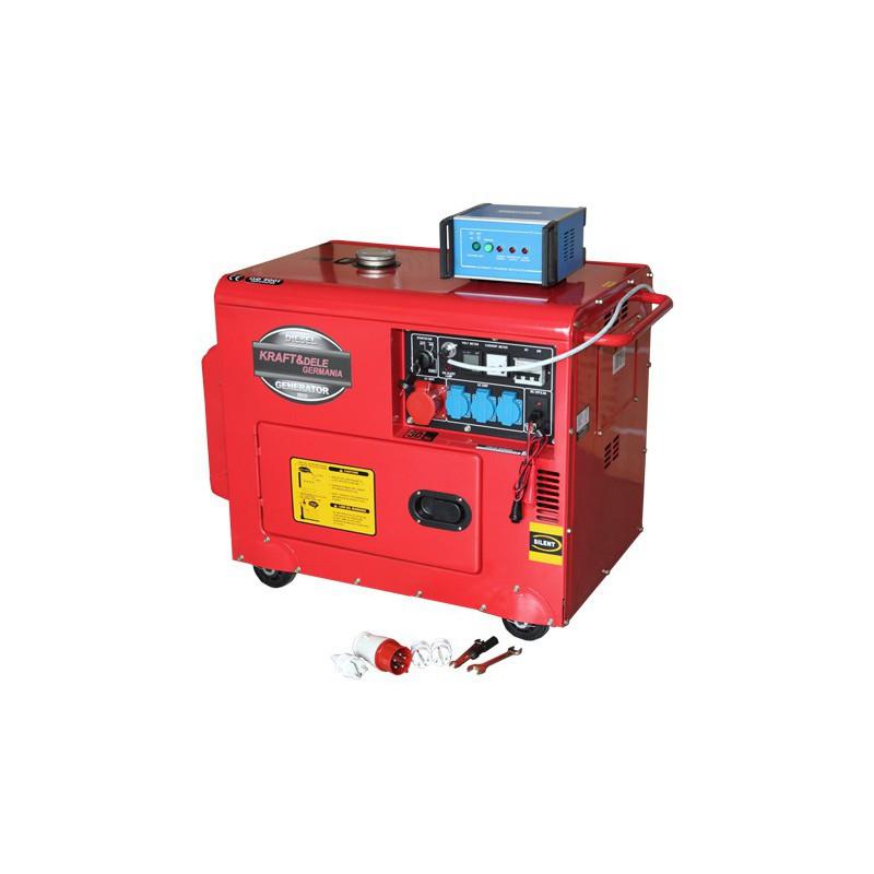 Дизельный генератор 7000W 12 / 230 / 380V KD121 Генератор