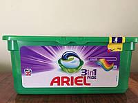 Капсулы для стирки Ariel 3in1 PODS Colour 28 шт.