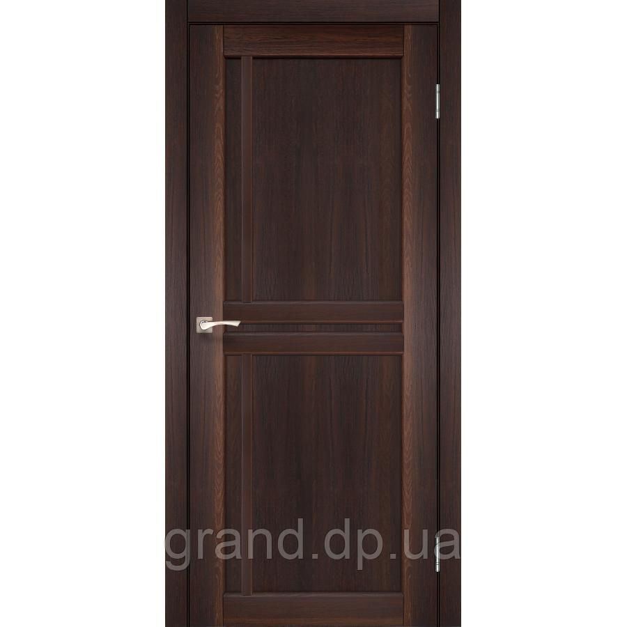 Двери межкомнатные Корфад SCALEA Модель: SC-01_ цвет орех
