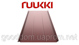 Фальцевая кровля Ruukki/Руукки, Classic D/Классик Д Polyester mat / полиэстер мат, RR32 Quality class 30
