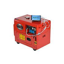 Дизельный генератор 7000W 12 / 230 / 380V KD121 Генератор, фото 3