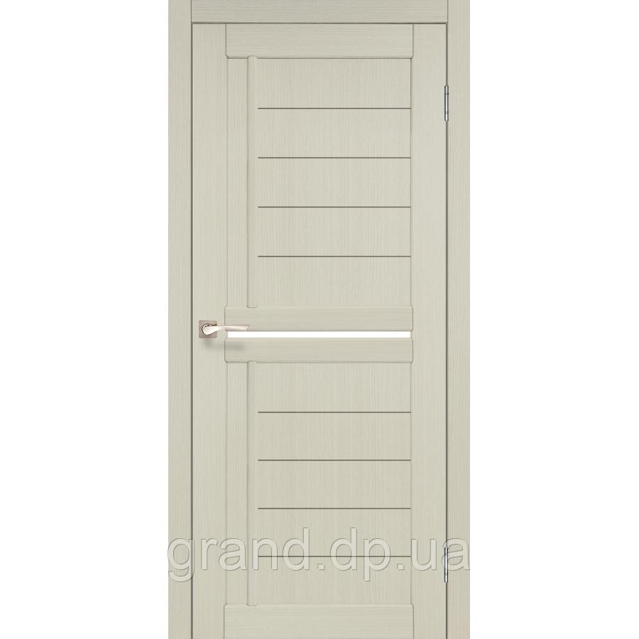 Двери межкомнатные Корфад SCALEA Модель: SC-03 дуб беленый с матовым стеклом