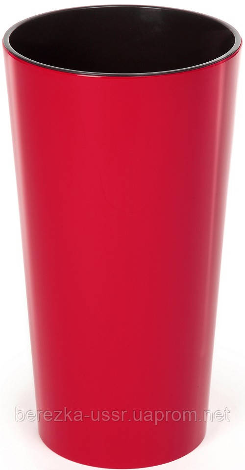 Горшок Lamela Lilia25 (Ламела Лилия) Красный