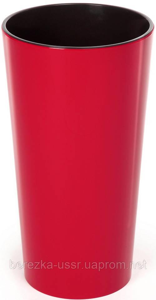 Горшок Lamela Lilia40 (Ламела Лилия) Красный
