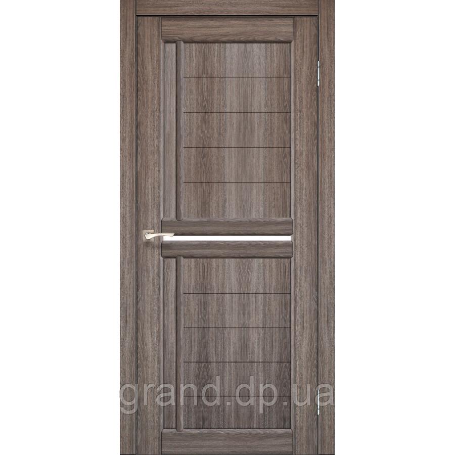 Двери межкомнатные Korfad SCALEA Модель: SC-03 цвет дуб грей  с матовым стеклом