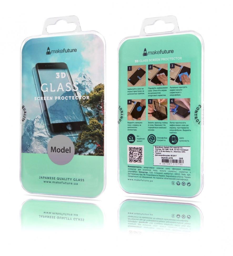 Защитное стекло MakeFuture Apple iPhone 6 3D White