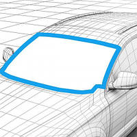 Стекло автомобильное лобовое AUDI A4  08-